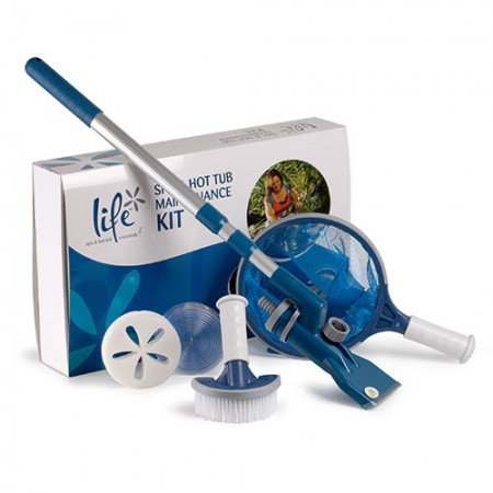 life spa & hot tub maintenance kit