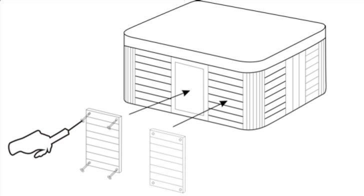Diagram Of Hot Tub Bottom
